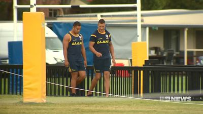 Parramatta turn aggressive at NRL training