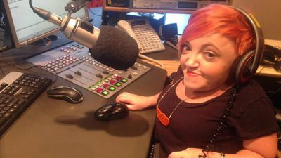 <p>She appeared regularly on radio, television and print, challenging perceptions on people with disabilities. (Twitter)</p>