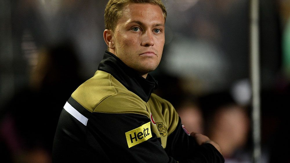 Matt Moylan has been left out of the Penrith side to face Brisbane. (AAP)