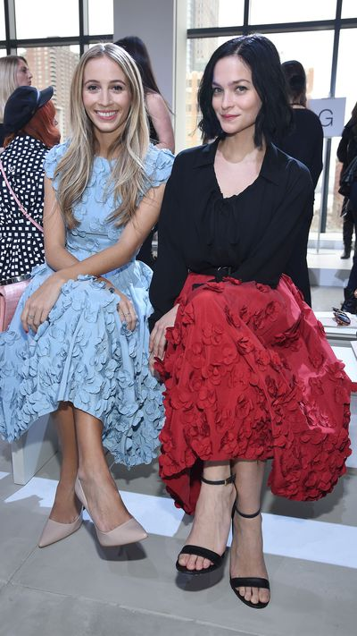 Harley Vera Newton and Leigh Lezark at Michael Kors