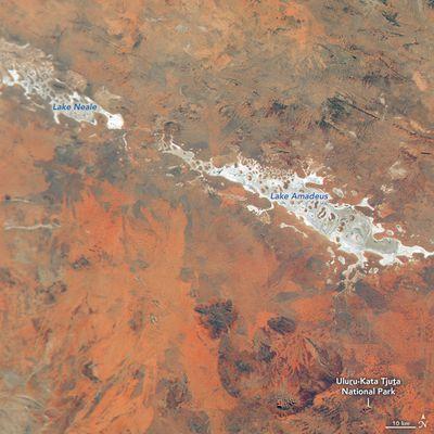 Australia's red centre