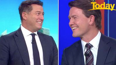 Karl Stefanovic, Alex Cullen surprised with videos from children ahead of Father's Day