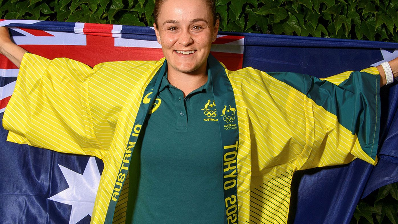 Ash Barty will become the first Indigenous player to represent Australia at tennis at the Olympics.