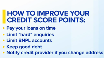 Follow these steps to improve your credit score.