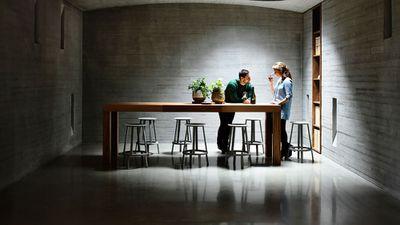 TarraWarra Cellar Door, Yarra Glen VIC - nominated for best retail design