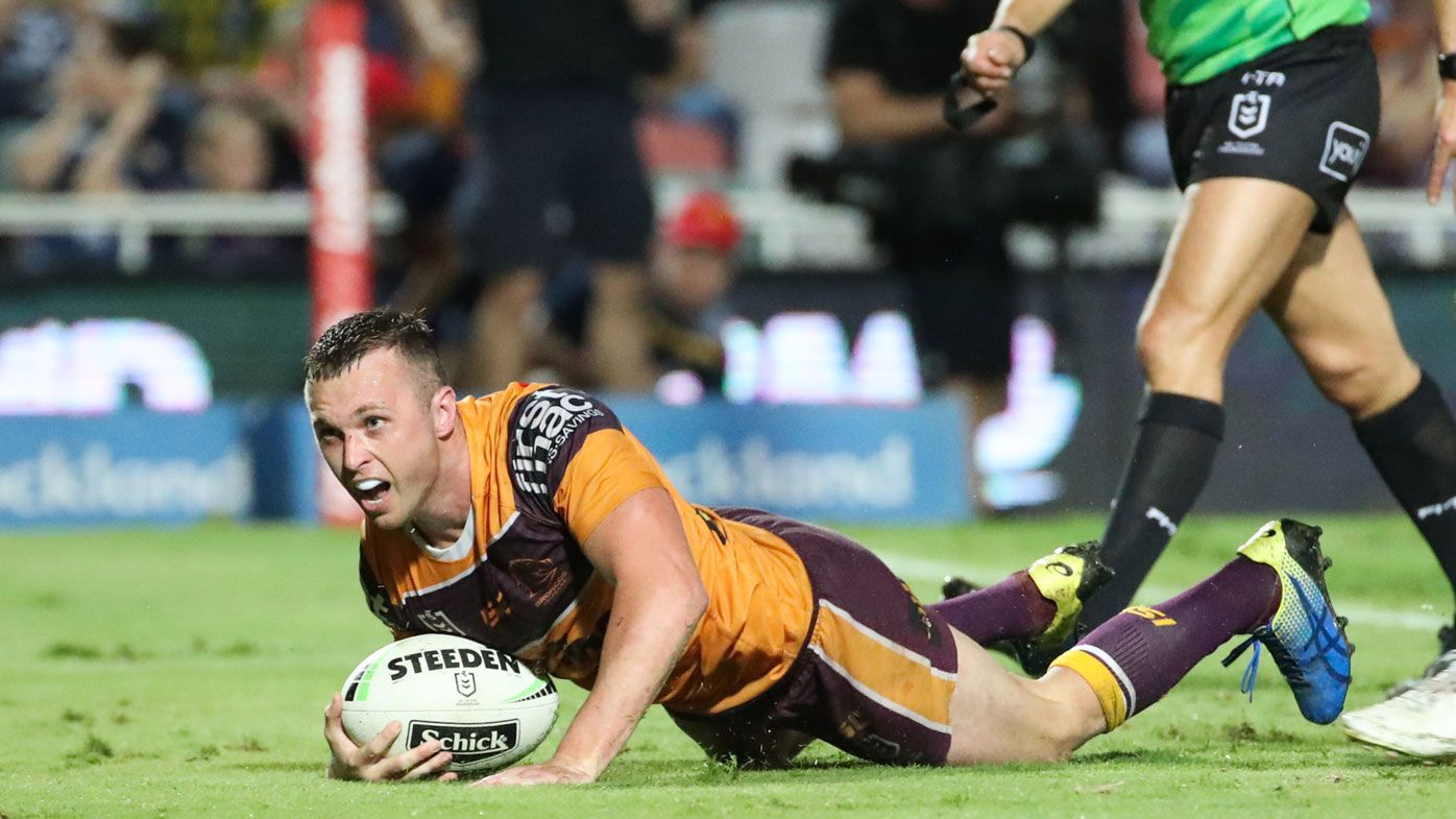 NRL: Last-ditch Jake Turpin try sees Brisbane Broncos into top-eight