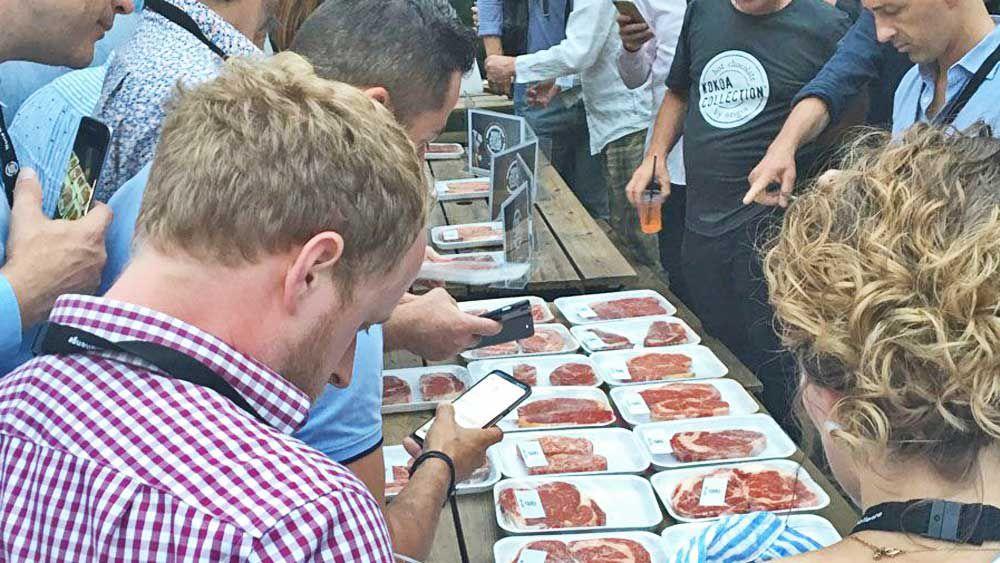 World's Best Steak judging