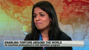 Human rights lawyer Amrit Singh claims her client was tortured in Bucharest, Romania. Source: CNN