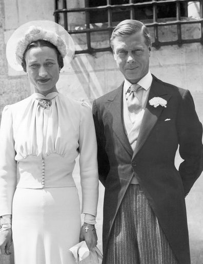 Edward and Wallis married in 1937.