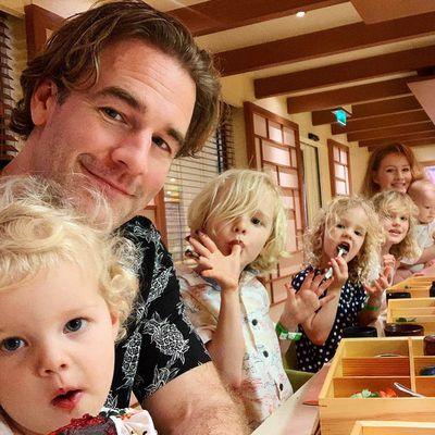 James Van Der Beek: 5 kids