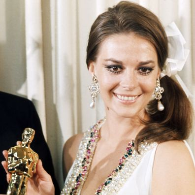 Natalie Wood at the 1968 Oscars.