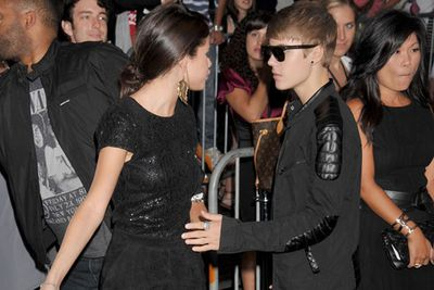 """Things turned sour for """"Jelena"""" in January 2013 and they finally called it quits after two years of romance. Justin didn't handle the break up as well as Selena, his behavior getting more and more out of control as he hit a downward spiral."""