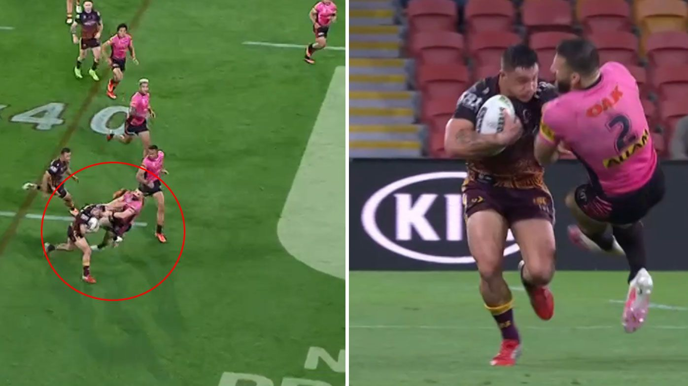 Kotoni Staggs' brutal show of strength against Panthers stuns commentators