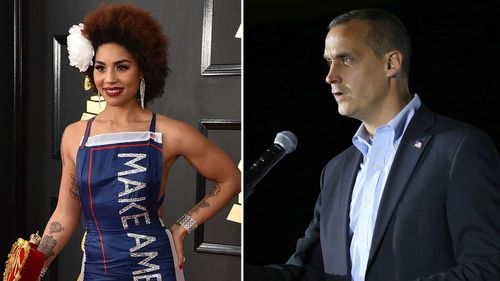 Joy Villa has acussed former Trump campaign manager Corey Lewandowski of sexual assault  (Photo by Jordan Strauss/Invision/AP/AP Photo/Mary Schwalm, File)