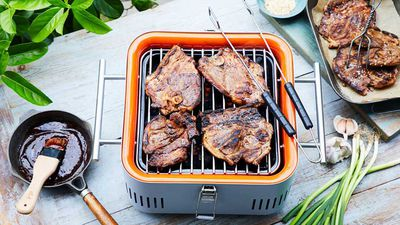 BBQ hoisin lamb chops
