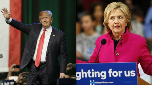 Trump warns Clinton against using the 'woman card'