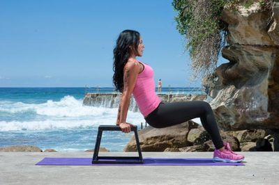 """<strong>Vix Erber, founder of <a href=""""http://www.bondivixen.com/"""">Bondi Vixen</a>, will do a beach workout</strong>"""