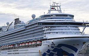 Ruby Princess crew member diagnosed with tuberculosis