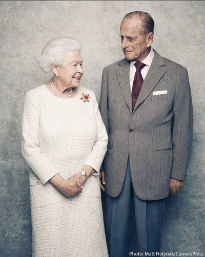 "The Queen and Prince Philip<span style=""white-space:pre;"">	</span>"