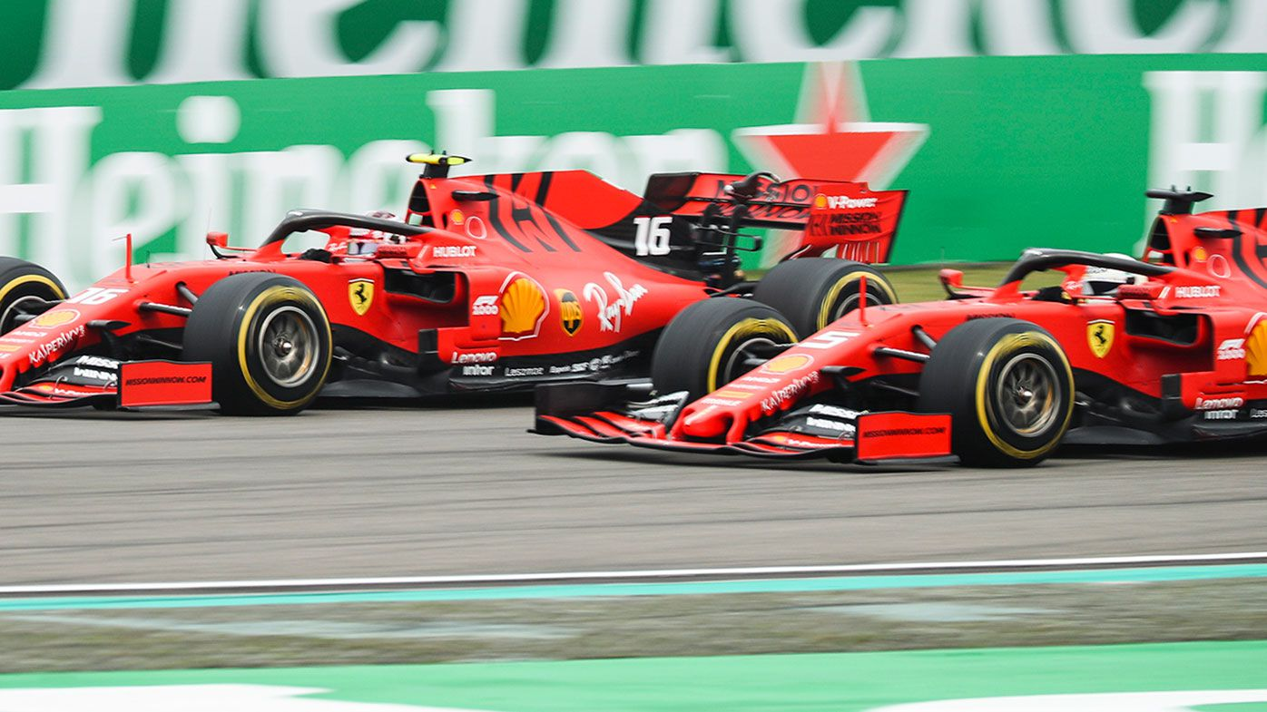 Chinese debacle puts Sebastian Vettel and Charles Leclerc on collision course