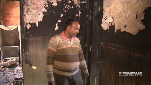 Owner Suresh Kumar was left devastated.