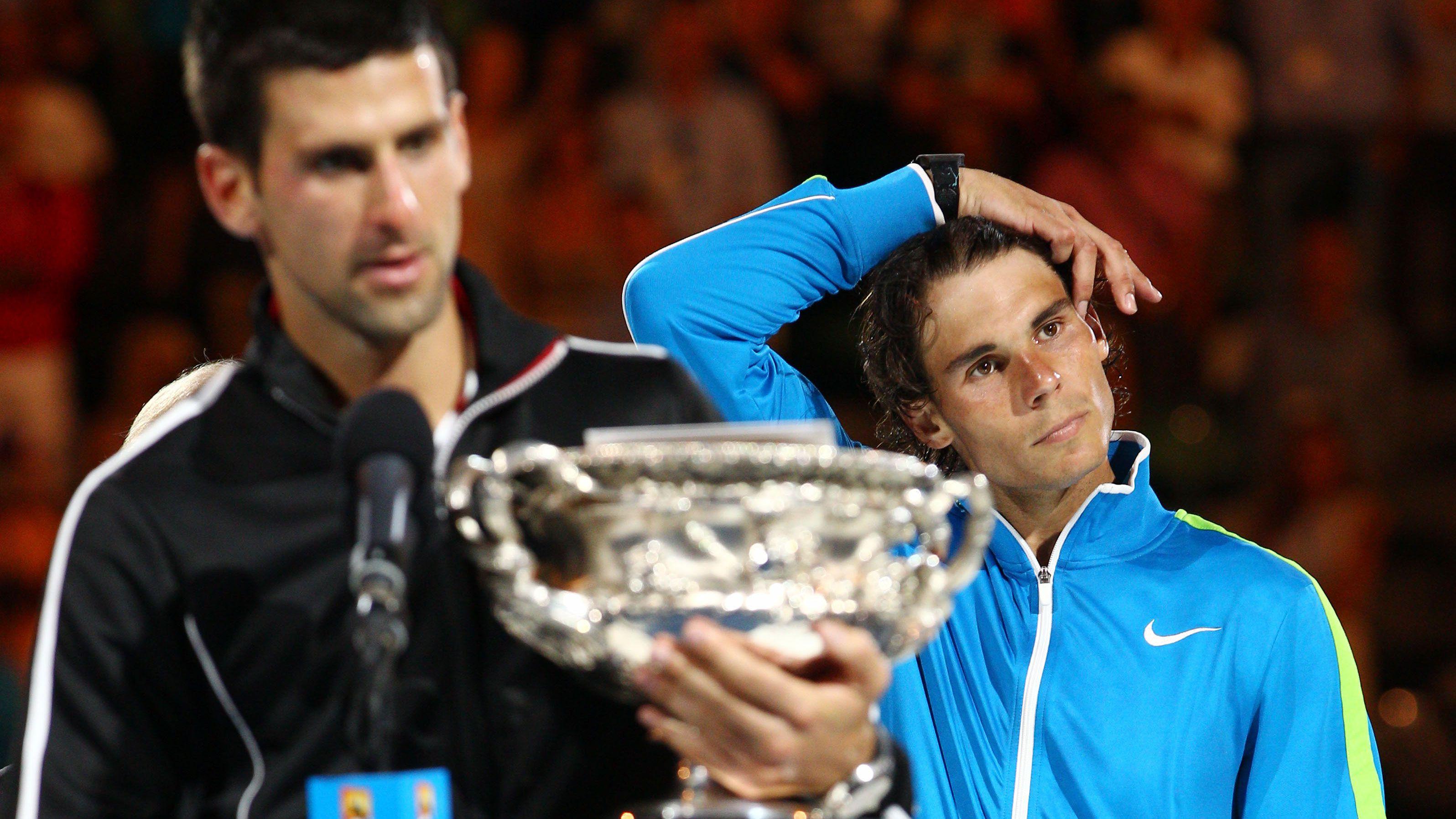 Novak Djokovic Rafael Nadal