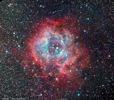 Photo of Rosette Nebula