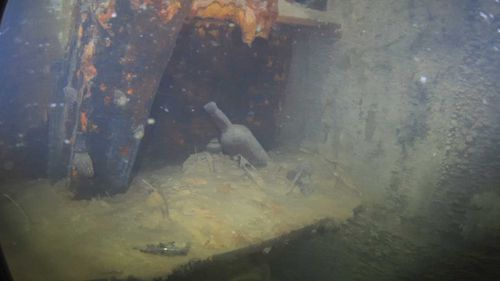 The HMS Terror was discovered off King William Island in 2016.