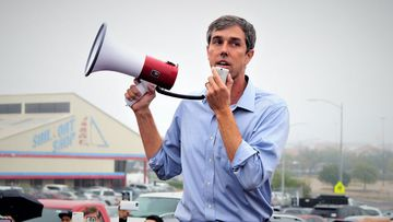 Beto O'Rourke has told reporters he is running for president.