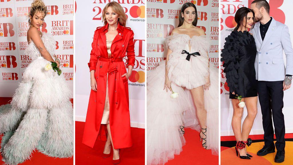 Brit Awards 2018 red carpet