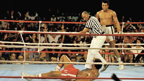 Boxing ring used for iconic Rumble in the Jungle bout 'stolen'