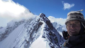 Trip leader Joe Nawalaniec has extensive experience in mountaineering.