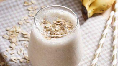 """Recipe:&nbsp;<a href=""""https://kitchen.nine.com.au/2017/01/13/17/42/pre-workout-breakfast-power-smoothie"""" target=""""_top"""">Pre-workout breakfast power smoothie</a>"""