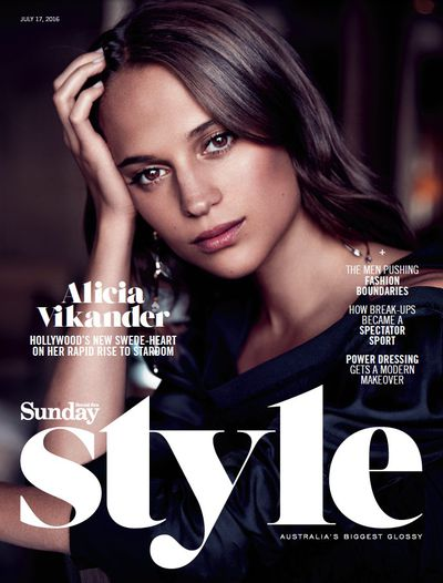 <p><strong>9.&nbsp;</strong></p> <p>The fashion focused <em>Sunday Style</em> has disappeared from newspapers, replaced by <em>Stellar</em>. Before it closed photographer Steven Chee drew attention to the Swedish star's unblemished beauty.</p>