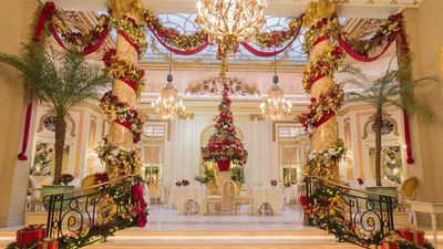 The hotels that do Christmas best