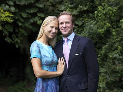 Lady Gabriella, 37, became engaged to Kingston, 40, in August 2018