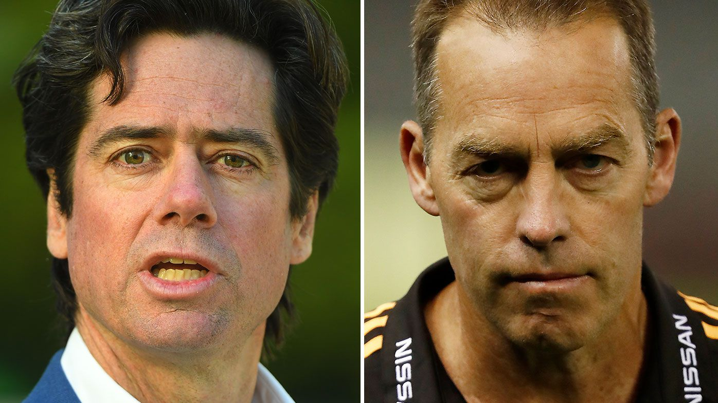 AFL boss Gillon McLachlan hits back at Alastair Clarkson's public criticism of modern game