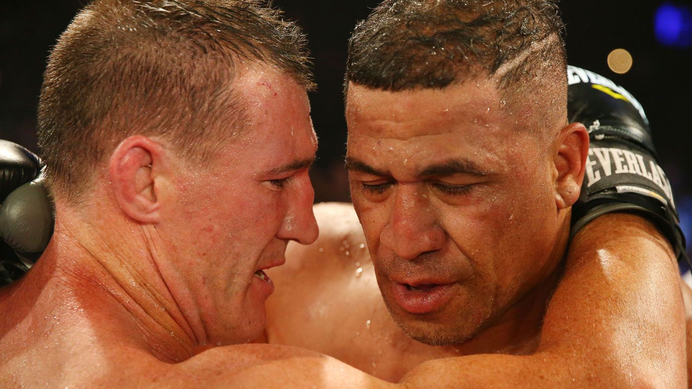 Gallen and Hopoate embrace