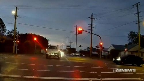 Dashcam footage has also caught hundreds more drivers failing to obey the simplest road rule. Picture: Supplied.