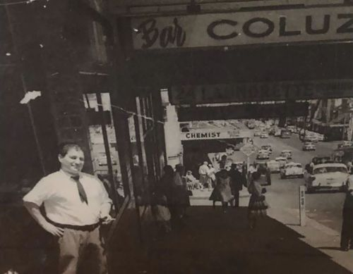 Luigi Coluzzi Sr started the Bar Coluzzi brand in Sydney.