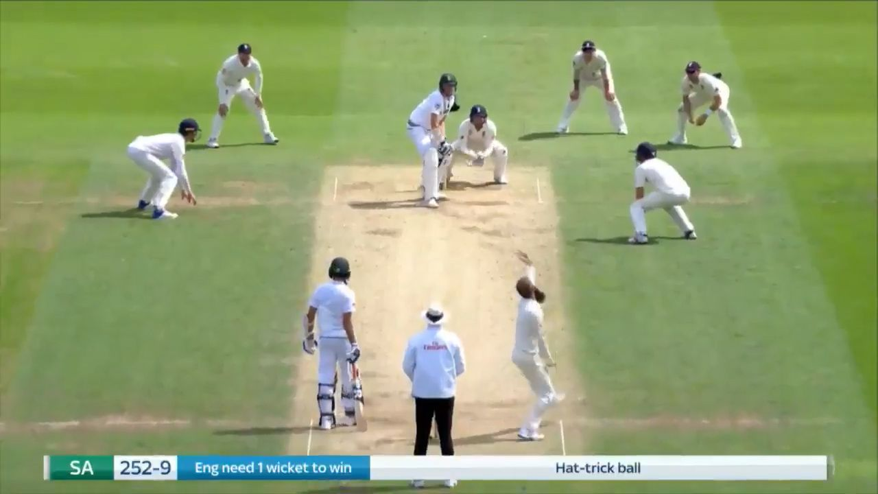 Hat trick for England spinner Moeen Ali