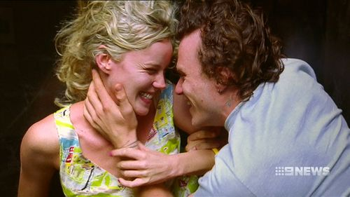 "Abbie Cornish and Heath Ledger in ""Candy"". (9NEWS)"
