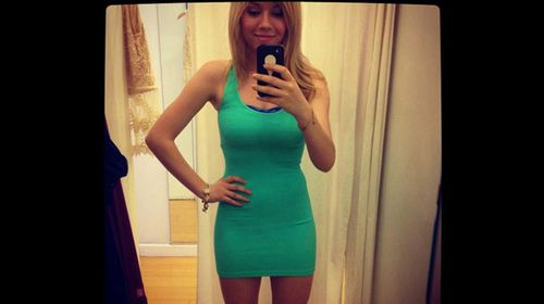 Jennette McCurdy flaunts an outfit. (Instagram)