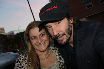 Nicole and Keanu Reeves