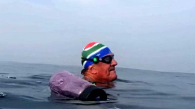Oldest person to swim the English Channel