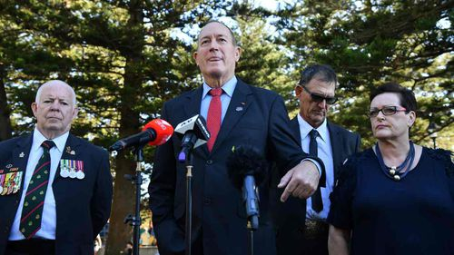 Fraser Anning held his press conference at the flashpoint of the Cronulla riots.