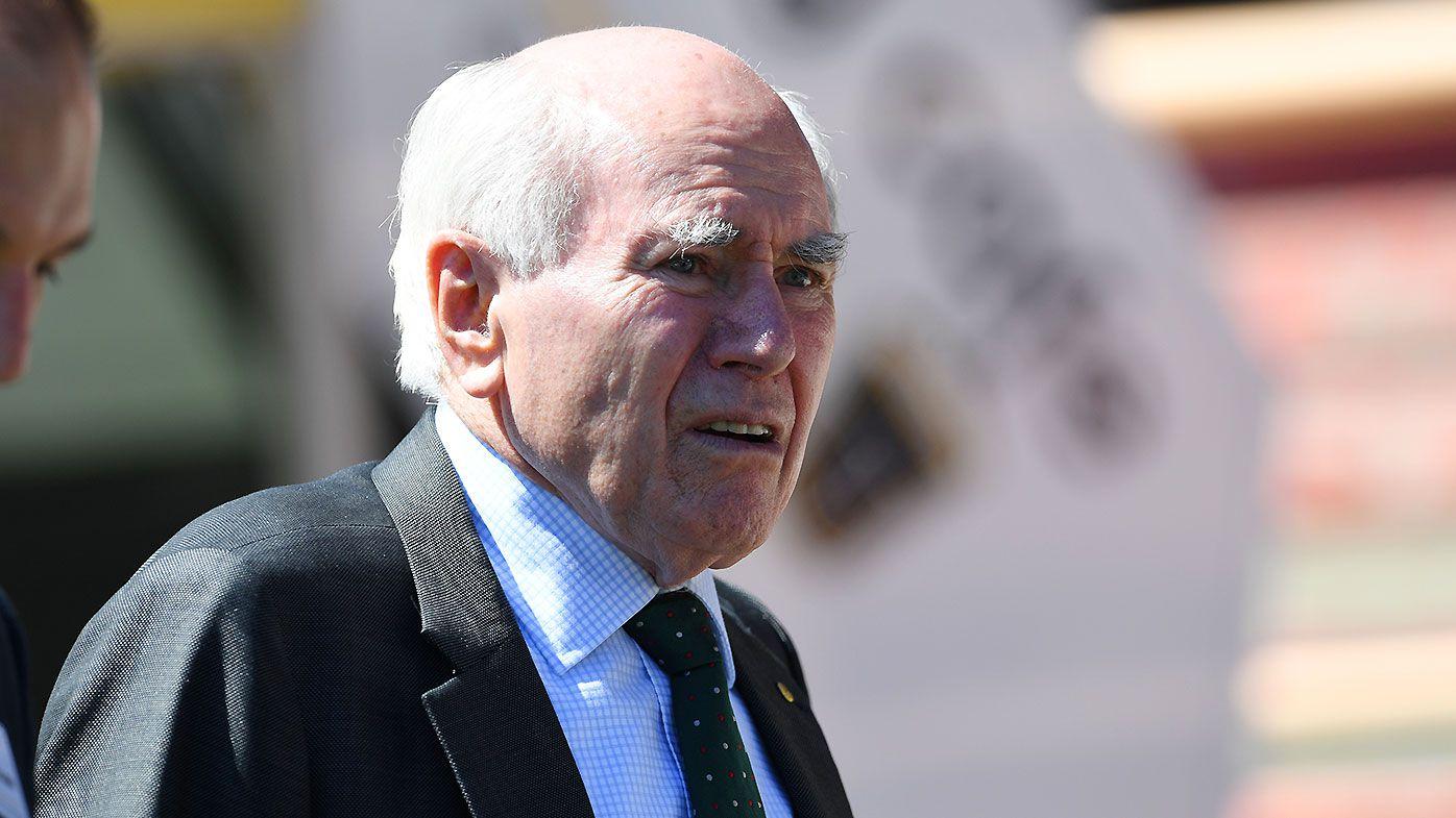 Former Prime Minister John Howard weighs in on ball-tampering scandal