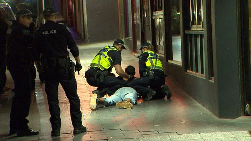 A second man was released without charge. Image: 9News