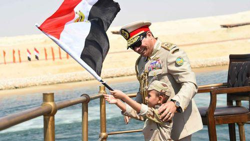 Egyptian President Sisi inaugurates 'new Suez Canal'