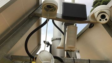 There has been a spate of attacks on moveable speed cameras and mobile phone detection cameras in NSW.